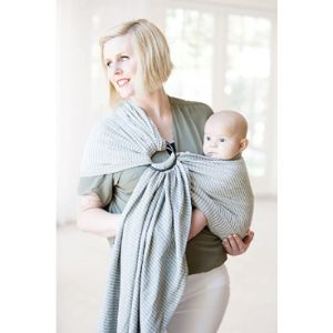 Moby Baby Carrier Breastfeeding