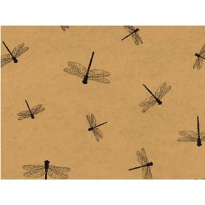 Rustic Pearl Collection Dragonfly Tissue Paper