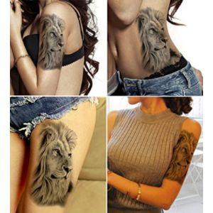 Visit The Dalin Temporary Tattoo Store Lion Tattoo Design