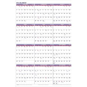 Ataglance Chinese New 2019 Year Calendar