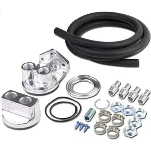 Visit The Auto Dynasty Store Oil Filter Relocation Kit
