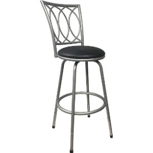 Visit The Roundhill Furniture Store Adjustable Metal Stool