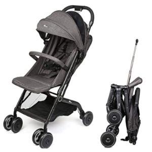 Amzdeal One Hand Fold Lightweight Stroller