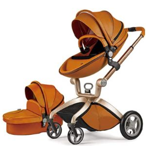 Hot Mom Gold Baby Stroller
