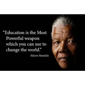 Visit The Young N Refined Store Nelson Mandela Education Quote