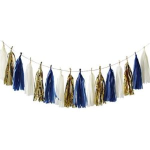 Nicrolandee Tassel Garland Wedding