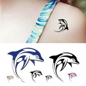Oottati Tattoo Design Dolphin