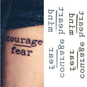Oottati Design Text Tattoo