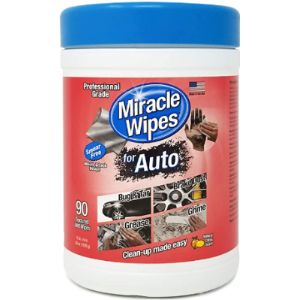 Miraclewipes Upholstery Cleaner Car Wash