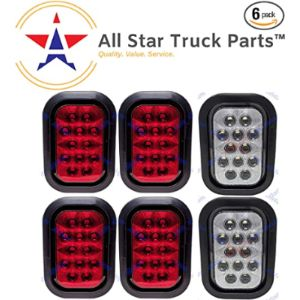 All Star Truck Parts Pigtail Trailer Light
