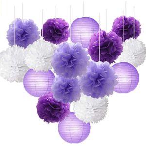Wonderfulshop Tissue Paper Flower Ball