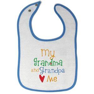 Cute Rascals Grandma Baby Bib