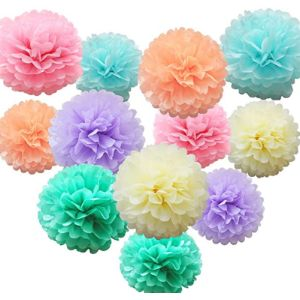 Ishyan Tissue Paper Flower Decoration