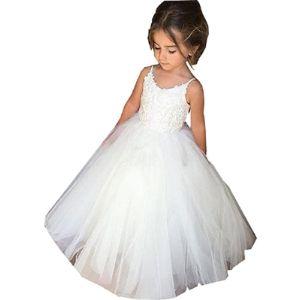Plwedding Flower Girl Ball Gown