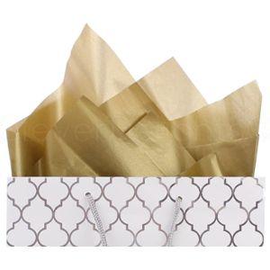 Cleverdelights Metallic Bulk Tissue Paper