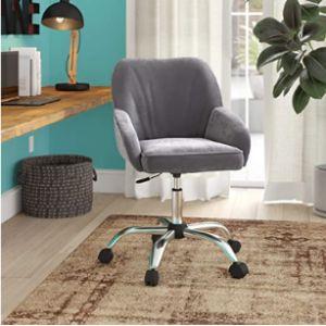 Belleze Velvet Rolling Chair