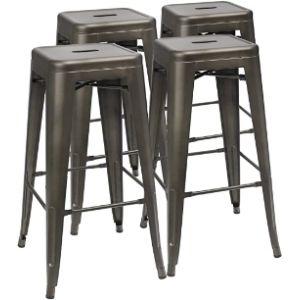 Furmax Metal Stool Chair