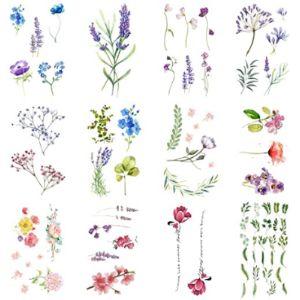 Wyuen Flower Tattoo Template