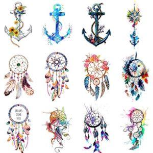 Wyuen Dreamcatcher Tattoo Design