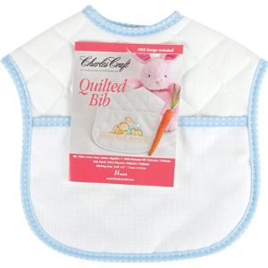 Visit The Dmc Store Quilted Baby Bib