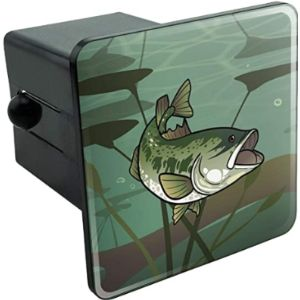 Graphics And More Bass Trailer Hitch Cover