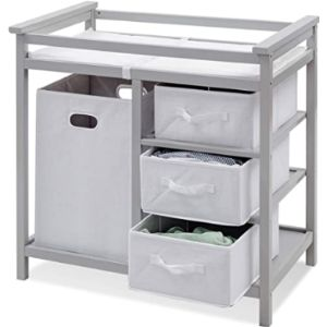 Costzon Grey Baby Changing Table