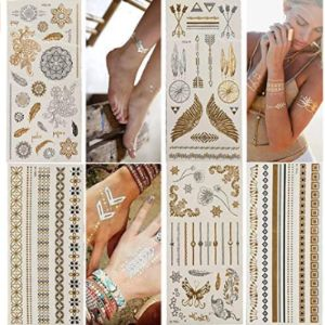 Wffdirect Henna Tattoo Sticker