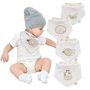 Cotton Coming Funny Baby Bib