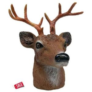 Unknown Deer Trailer Hitch Ball Cover