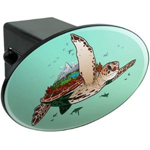 Graphics And More Turtle Trailer Hitch Cover