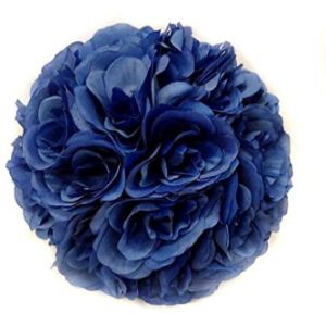 Ben Collection Royal Blue Flower Ball