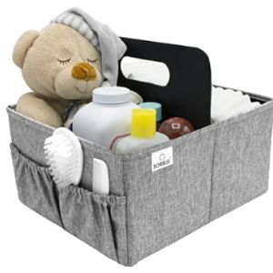 Sorbus Diaper Organizer Changing Table