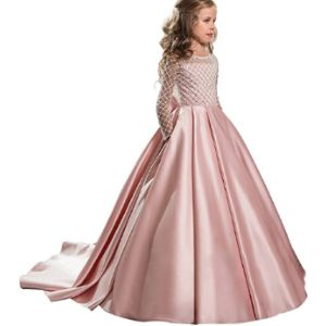 Abaowedding Flower Girl Ball Gown