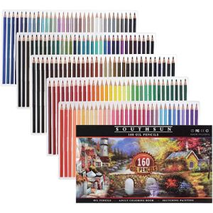Visit The Southsun Store Wood Art Colored Pencil
