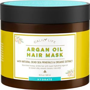 Calily Coconut Review Oil Hair Mask
