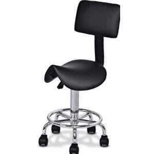 Giantex Saddle Rolling Chair