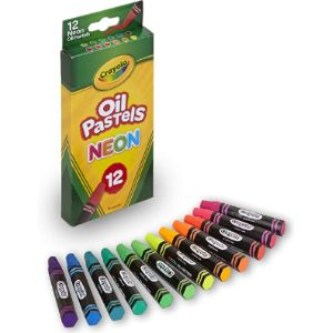 Crayola Flower Painting Oil Pastel