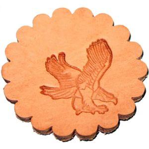 Zelikovitz Eagle Leather Stamp