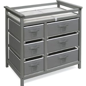 Visit The Badger Basket Store Grey Baby Changing Table