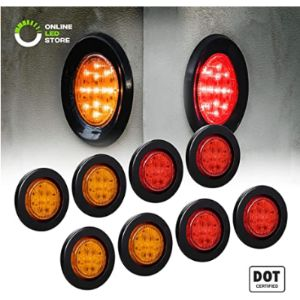 Led Round Clearance Light