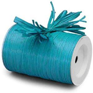 Paper Mart Turquoise Raffia Ribbon