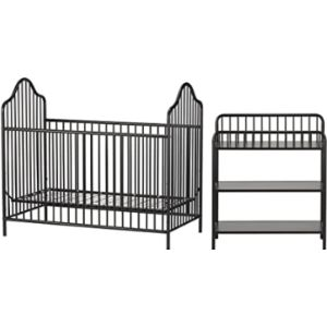 Little Seeds Baby Changing Table Black