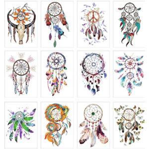 Cokohappy Dreamcatcher Tattoo Design