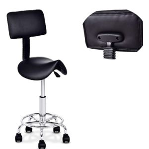 Gentle Shower Saddle Rolling Chair