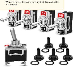 Nilight Blower Motor Toggle Switch