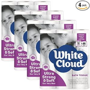 White Cloud Target Tissue Paper