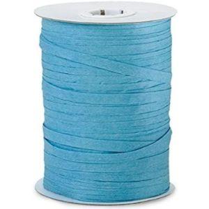 Generic Turquoise Raffia Ribbon