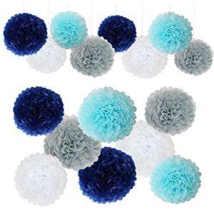 G Deco Tissue Paper Flower Ball