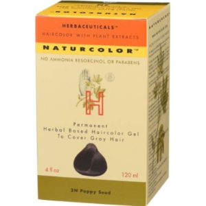 Naturcolor Hair Dyes Black Without Chemical