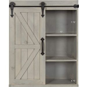 Kate And Laurel Wall Mount Towel Cabinet